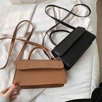 Shoulder Bags Women's Clamshell One-shoulder Messenger Bag Ladies Fashion Chain Leather Handbag