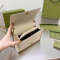 Mulheres luxurys designers malas 2021 de alta qualidade bolsa de bolsa de couro genuíno textura g bag mensageiro senhoras bolsas de crédito cartão de crédito