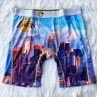 Polyester Ethika Sous-potes respirables Soft Mens Boxers Breft Lettre Sous-vêtements pour hommes Sexy Sexy Male Shorts Boxer Pantalon de plage rapide