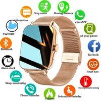 Designer watch Brand Watches Luxury Watch Ladies men Full touch fitness tracker Blood pressure clock ladies smart +Box
