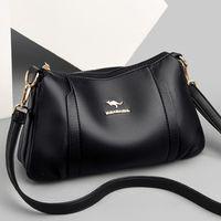 Evening Bags Simple Leather Shoulder Crossbody For Women 2021 High Quality Messenger Bag Female Purses And Handbags Luxury Designer Sac