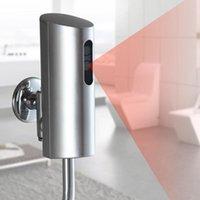 표면 장착형 자동 적외선 소변기 플러시 밸브 터치리스 화장실 플러셔가 자동으로 좌석 커버를 홍조합니다.