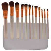 Top Qualité N3 Maquillage Brosses 12pcs avec une boîte Girl Field Found Foundation Business Powder Cosmetics Outil