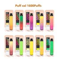 Superior quality Disposable Vape E cigarette Device Puff xxl Plus Bar bang pods E-Cigarettes Vapes Pen 1600 Puffs 22 colors 1000 mah battery