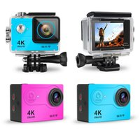Dropship H9 Action Camera Ultra HD 4K 30fps WiFi 2.0-inch 170D Underwater Waterproof Helmet Video Recording Cameras Cam Without SD card HIGH