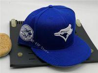 2021 Moda Hip Hop Klasik Toronto Beyaz Mavi Tam Kapalı Kapaklar Beyzbol Spor Tüm Takım Donatılmış Şapka Boyutu 7-8 mix Sipariş Tamam