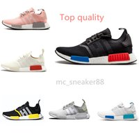 Adidas NMD_R1 V2 2021 NMDS R1 الرجال النساء تشغيل الأحذية عداء الثلاثي الأسود الشمسية الرعد أوريو خمر الرجال الأبيض مدرب تنفس الرياضة أحذية رياضية