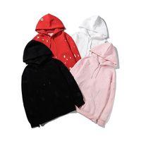 Sudaderas con capucha para mujer con capucha para hombre Suéter de buena calidad 100% impresión de algodón estilo europeo Sudadera de moda de mujer S ropa de manga larga