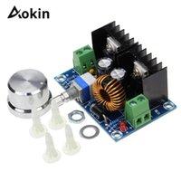 Circuits intégrés 8A 200W DC-DC Step Down Buck Convertisseur DC en Alimentation XL4016 PWM Réglable 4-40V 1.25-36V Module de panneau
