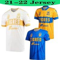 Men2021 2022 Mundial De Clubes Uanl Tigres Gignac Soccer Jerseys 20 21 Vargas Home Away 3rd Tercer Pizarro Mexico Football Shirts