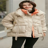 New Long Parkas With Hooded Female Women Winter Coat Thick Down Cotton Jacket Womens Outwear Plus Size
