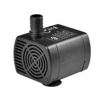 Bombas de aire Accesorios Miniatura DC Bomba de agua sin escobillas QR10C DC12V 2M Mini Fuente Dispensador de mascotas sumergible