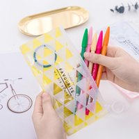 Pencil Cases Simple English Alphabet Pattern Large-capacity Translucent Case Storage Bag Student Supplies Stationery