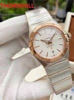 Automatic Mechanical Wristwatches Relogies Men 38mm Full Fine Stainless steel Luminous Women Watch 28mm Couples Sapphire Wristwatch Super montre de luxe