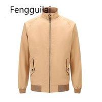 Fengguilai 2021 jaqueta masculina de alta qualidade moda jeans jaquetas slim fit casual streetwear homens vintage roupas primavera outwearmzqc34dew6bt