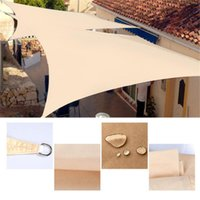 Shade Waterproof Awning Polyester Outdoor Garden Courtyard Patio Shelter Summer Sun Protection Rain Cover UV