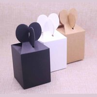 Gift Wrap 10pcs Fishtail FeiLuan Paper Hanger Box Display& Package Box,blank DIY Black brown Candy wedding Event Party Suppiles