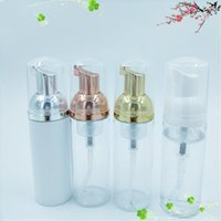 Storage Bottles & Jars 10pcs lot 30ml 60ml 80ml 100ml Plastic Foamer Pump Bottle Empty Face Lashes Cleanser Cosmetic Soap Dispenser Foam