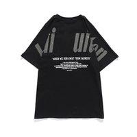 남성 디자이너 T 셔츠 스트리트 캐주얼 편지 브랜드 짧은 소매 통기성 주름 방지 순수 코튼 커플의 착용