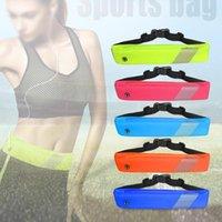 Outdoor Bags Running Waist Bag Waterproof Sports Gym Mobile Phone Men Women Hidden Pouch Belt Pack Equipment
