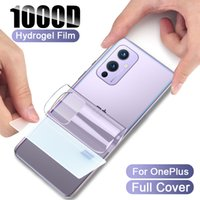 Full Cover Curved Hydrogel Film For OnePlus 9 8T 8 7 7T Pro 6 6T Screen Protector Back Film Not-Tempered Glass Phone Accessories