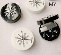 Fashional Cosplay Toptan Fiyat Kontakt Lens Kılıfları White Out Gemi Kutuları