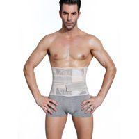 Men's Body Shapers Slimming Belt Corset Men Belts Slim Girdle Modeling Strap Abdomen Fat Burning Tummy Waist Trimmer Trainer Shapewear