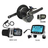 Europa oder China-Aktie 48 V 500 Watt 750W VLCD5 für VLCD6 und XH-18 LCD TSDZ2 Elektrischer Fahrrad Mid Motor mit Drehmomentsensor