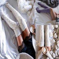 Socks & Hosiery Women Stockings Warm Thigh High Over The Knee Long Cotton Medias De Mujer Meia Arras