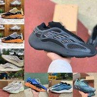 고품질 Enflame 앰버 700 V2 남자 여성 스포츠 신발 러너 바다 밝은 파란색 700S v3 Geode 380 Alvah Azael 정적 자석 웨이브 솔리드 인테리아 회색 트레이너 스니커즈