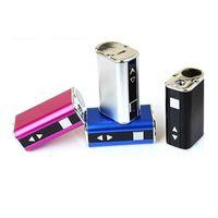 TOP Quanlity Mini 10W Boîte de batterie MO-Cigarette 1050MAH Voltage variable VV VV Pen avec câble USB 510 Adaptateur de connecteur EGO Simple Pack