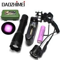 IR 850nm 5W Night Vision Infrarrojo Zoomable Linterna Linterna Linterna de Torchcamping On / Off Modo con clip de pistola + Modo dual Presión remota SWITC 210608