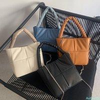 Chain PU Leather Crossbody bag For Women 2021 Lady Designer Handbag and Purses Female New Shoulder Bag Totes Cross Body Bags