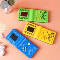 2021 Classic Tetris Main Nostalgic Host Jeux Jeux de Jeux Tenu Jeux Electronic Jouets Console pour enfants Jeux de brique amusante jeu Riddle Handheld