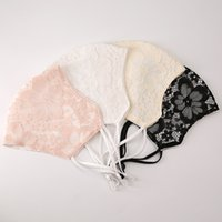 New Adult ice sense mesh breathable summer sunscreen mask thin eye protection lace cloth masks