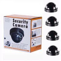 Cámara de Vigilancia Simulada Gefälschte Generatoren Dummy Kameras Dome Indoor Outdoor SimulationCamera Home Security Überwachung Simulierte Kamera LED-Monitor WLL586