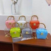 Evening Bags Box Designer Girls Acrylic Bag Women 2021 Luxury Top Handle Dinner Clutch Purses Ladies Handbag High Quality Women's