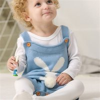 Baby Clothes Easter Knitted Infant Boy Sweaters Suspender Newborn Girl Jumpsuits Boutique Baby Clothing 8 Designs 3196 Q2