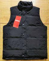 Kanada / ABD Stil Marka Kış Ceket Erkek Tarzı Yelek Kaz Aşağı Yelek Aşağı Yelek Aşağı Ceket Gelişmiş Su Geçirmez Kumaş