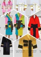 Hipster Bath Robe Top Quality Homens e Mulheres Luxo Wear Home Banheiro Sleepwear Casual Designer Roupas de Alta Grade
