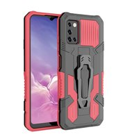 Wholesale Price Outdoor Case Heavy Duty Phone Cases Belt Clip Kickstand 2 In 1 TPU PC Back Cover For Samsung A03S Accessory