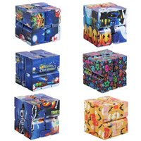 Puzzle Cube Durable Exquisite Decompression Toy Infinity Magic Cubes For Adults Kids Fidget Case Antistress Anxiety Desk Toys-TOPN394