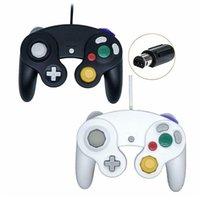NGC GC Gamecube Wii Wiiu Joystick Joypad Oyunu Aksesuar Kontrolörleri için Kablolu Gamepad Denetleyicisi