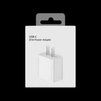 نوعية جيدة 18W 20W PD النوع C شواحن USB شحن سريع الاتحاد الأوروبي الولايات المتحدة التوصيل محول الهاتف المحمول تسليم الطاقة شاحن سريع لفون 12 11 × 7 برو ماكس زائد