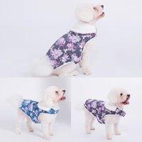 Köpek Giyim Çiçek Sıcak Yavru Kedi Kazak Aksesuar Giyim Sevimli Dayanıklı Rahat Kazak Köpekler Evcil Pelerin Giysileri