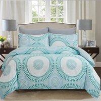 Bedding Sets Oentyo Bohemia Comforter Double Sided Mandala Duvet Cover Pink Nordic Bed Linen 2 People Queen King Twin Bedspread