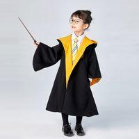Детская одежда Cosplay Hote Costume Халаты с капюшоном с галстуками Детский взрослый Унисекс Костюм для детей Одежда Магические халаты 707 Y2
