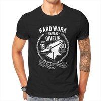 Camisetas para hombre Anime TRABAJO DURO ANVIL, ANVIL Ilustración Ilustración Cotizaciones motivacionales Camiseta para hombre Camiseta de verano