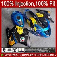 Injectievorm voor Honda Blackbird CBR 1100 1100xx CBR1100 XX CC 96-07 Body 26NO.5 CBR1100XX 96 97 98 99 00 01 1100CC 2002 2003 2004 2005 2006 2007 Kuiphaai blauw