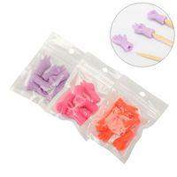 6pcs / lot Aghi per maglieria Protezioni Punto Protezioni Ago Stopper per tessere fai da te Maglieria e cucire per mamma Accessori per cucire accessori